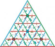 """Математические пирамиды """"Доли"""""""