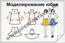 """Фолии """"Моделирование юбки"""""""