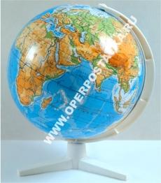 Глобус физический Земли М:50 млн. Д-26 см