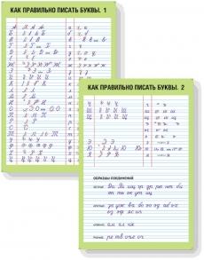 Как правильно писать буквы  (ф.А1, 2л , лам.)