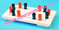 Коммутационная плата для сборки электрической цепи