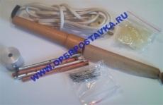 Прибор для демонстрации теплопроводности твердых тел