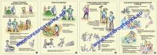 """Комплект таблиц """"Охрана труда при сельскохозяйственных работах"""" (10 таблиц,  42х59см)"""